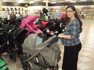 The big buggy shopping spree.