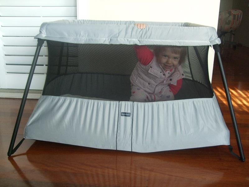 babybjorn travel cot light. Black Bedroom Furniture Sets. Home Design Ideas