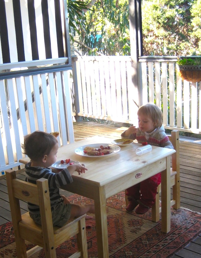 Babyreview Com Au Blog Archive Jolly Kidz Toughtimber Table Chairs Setting